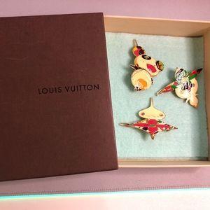 Louis Vuitton Takashi Murakami Barrette Hair Set